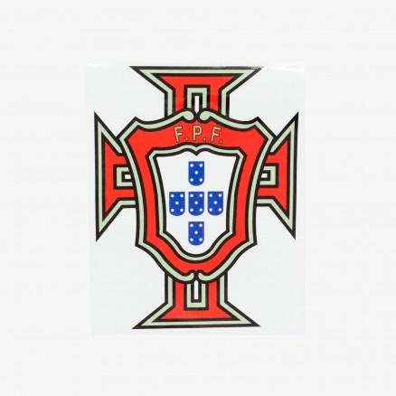 Autocollant Emblème FPF Portugal Effet Miroir