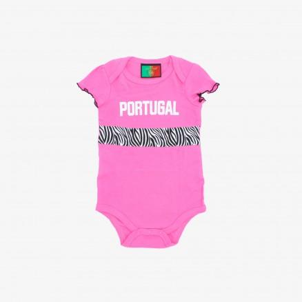 Conjunto Força Portugal Bébé (Menina)