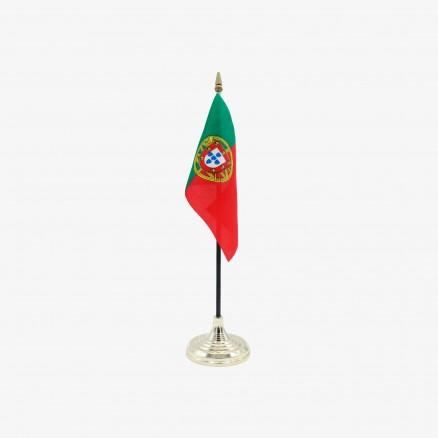 Drapeau du Portugal avec Base