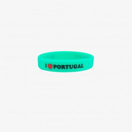 "Pulseira Força Portugal ""I LOVE PT"""