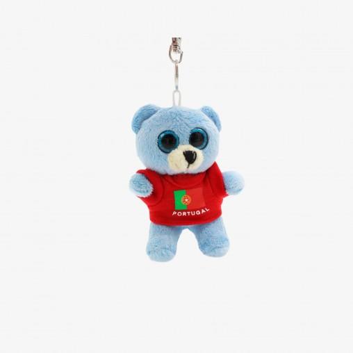 Porta-Chaves Força Portugal Urso