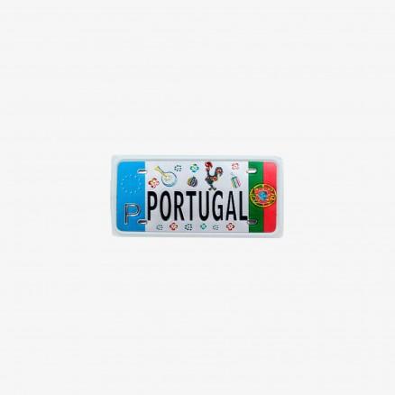 Força Portugal License Plate Style Keychain