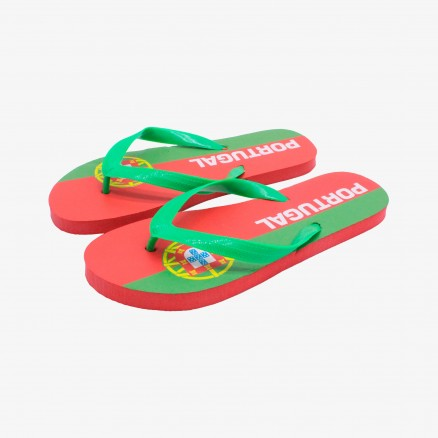 Força Portugal Flip Flops
