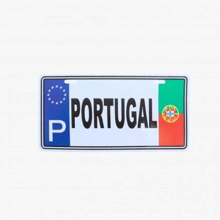 Placa Força Portugal Matrícula