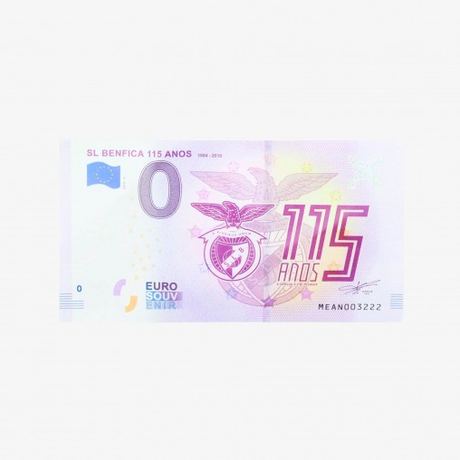 SL Benfica Banknote