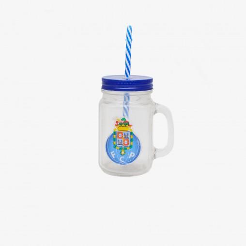 FC Porto Jar with Straw