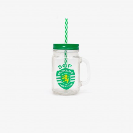 Bouteille avec Paille Sporting CP