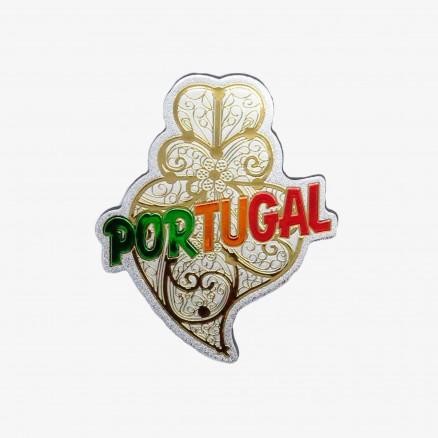 Magnet Força Portugal Coeur