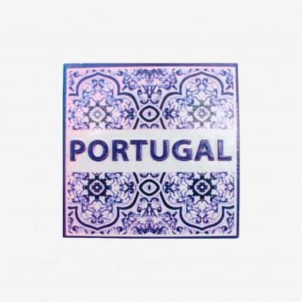 Força Portugal Tile Magnet