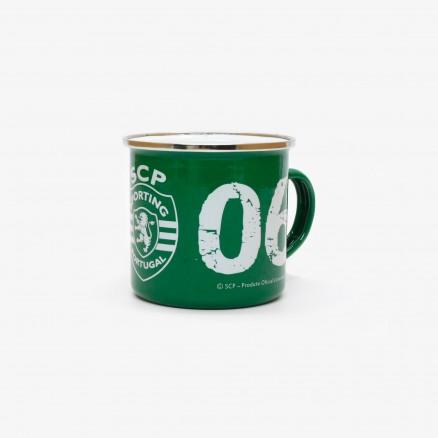 Sporting CP Enamel Mug