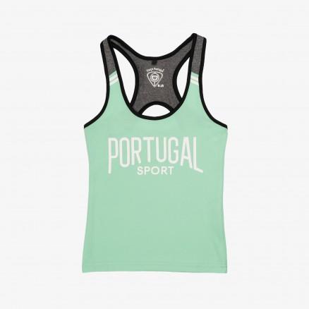 Singlet Força Portugal Sport JR (Rapariga)
