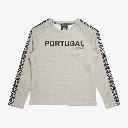 Camisola gola redonda Força Portugal Tape JR