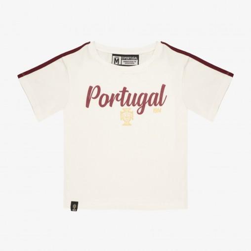 FPF Portugal Croped T-Shirt JR