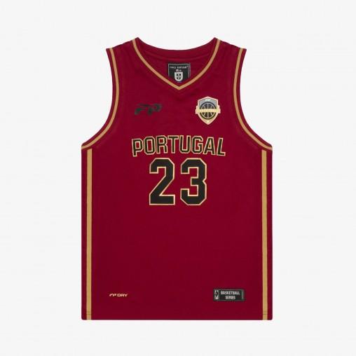 """Força Portugal Basketball Jersey """"23"""" JR"""
