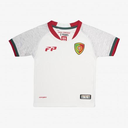 Camisola Futebol Força Portugal Game Bébé