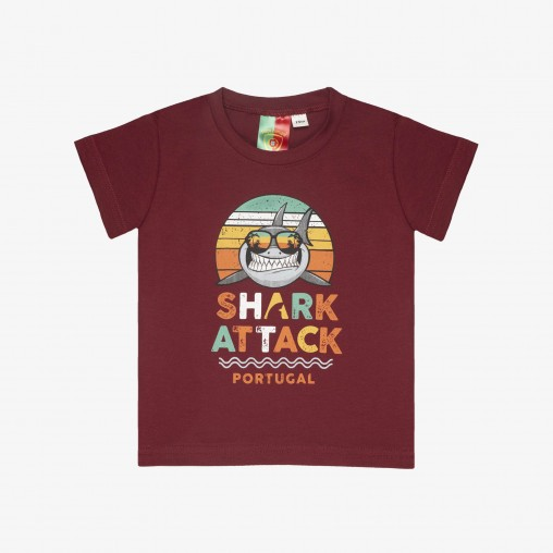 Força Portugal Shark Attack T-Shirt Baby
