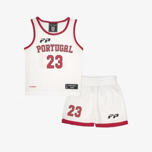 Kit de Basketball Força Portugal Bébé