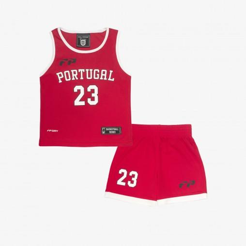 Força Portugal Basketball Set Baby