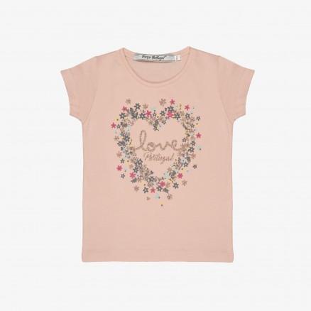 "T-Shirt Força Portuga""l Love"" Bébé (Menina)"