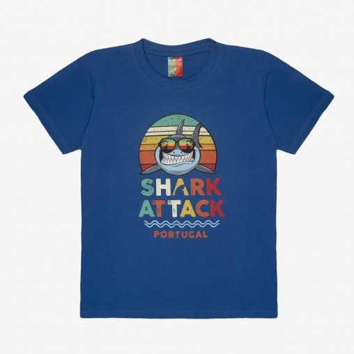 Força Portugal Shark Attack T-Shirt Jr