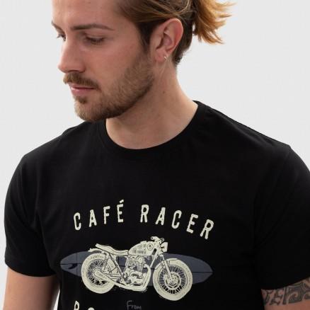 T-Shirt Força Portugal Cafe Racer