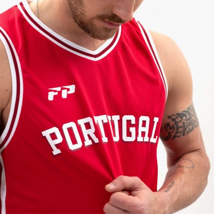 Camisola Basquetebol Força Portugal