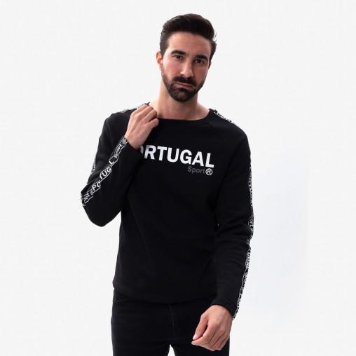 Força Portugal Tape Sweatshirt Round Collar