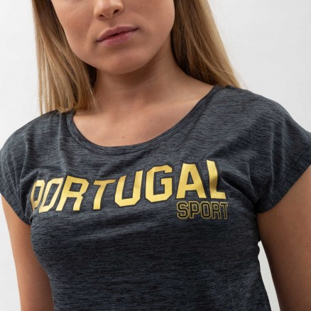 Força Portugal Fitness Cropped T-Shirt