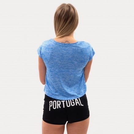 T-Shirt Court Força Portugal Fitness