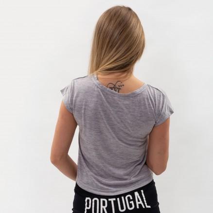 T-Shirt Curto Força Portugal Fitness