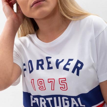 "Força  Portugal ""Forever"" Cropped T-Shirt"