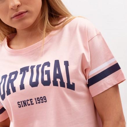 "Força  Portugal ""Since 1999"" Cropped T-Shirt"