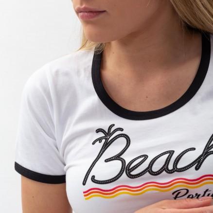"T-Shirt Força Portugal ""Beach"""