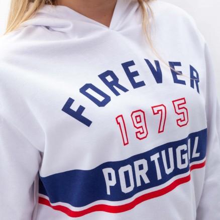 """Sweat Court à Capuche Força Portugal """"Portugal Forever"""""""