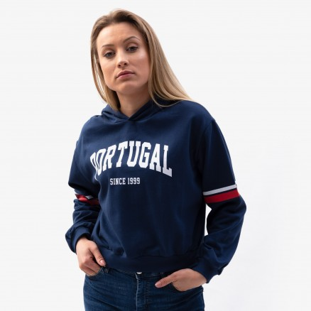 """Força  Portugal """"Portugal Since 1999"""" Cropped Hoodie"""