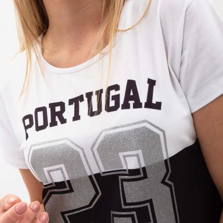 "T-Shirt Curto Força Portugal ""23"""