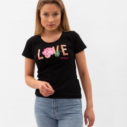 T-Shirt Força Portugal Love