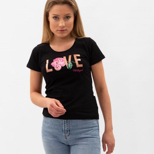Força Portugal Love T-Shirt