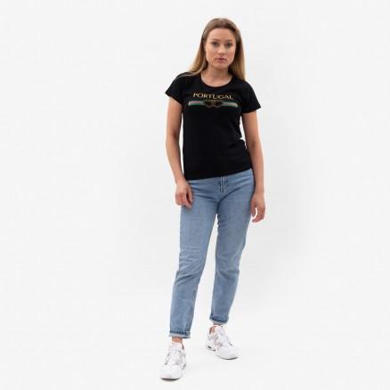 Força Portugal Double Heart T-Shirt