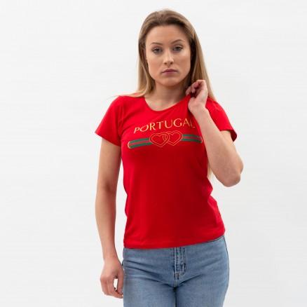 T-Shirt Força Portugal Double Coeur