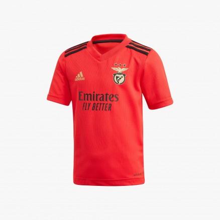 Kit SL Benfica JR2020/21 - Domicile