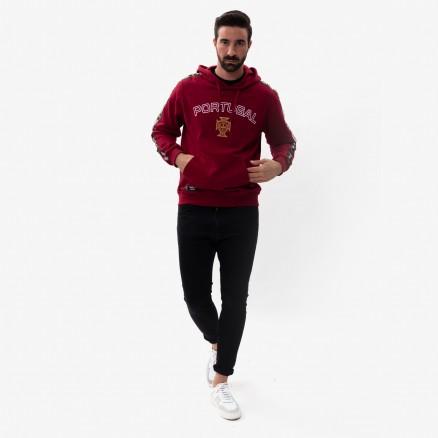 Sweatshirt com Capuz FPF Portugal