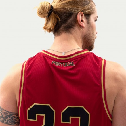 """Força Portugal Basketball Jersey """"23"""""""