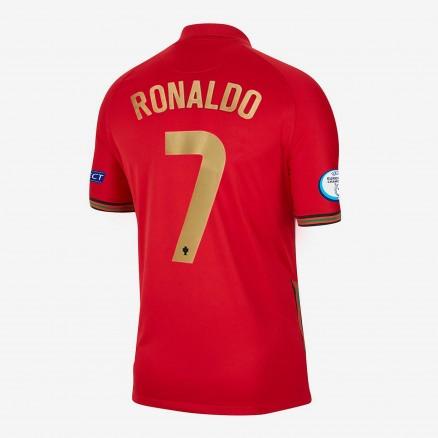 Portugal Ronaldo EURO 2020 Jersey - Home