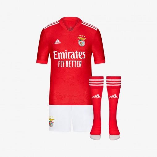 Kit SL Benfica JR2021/22 - Domicile